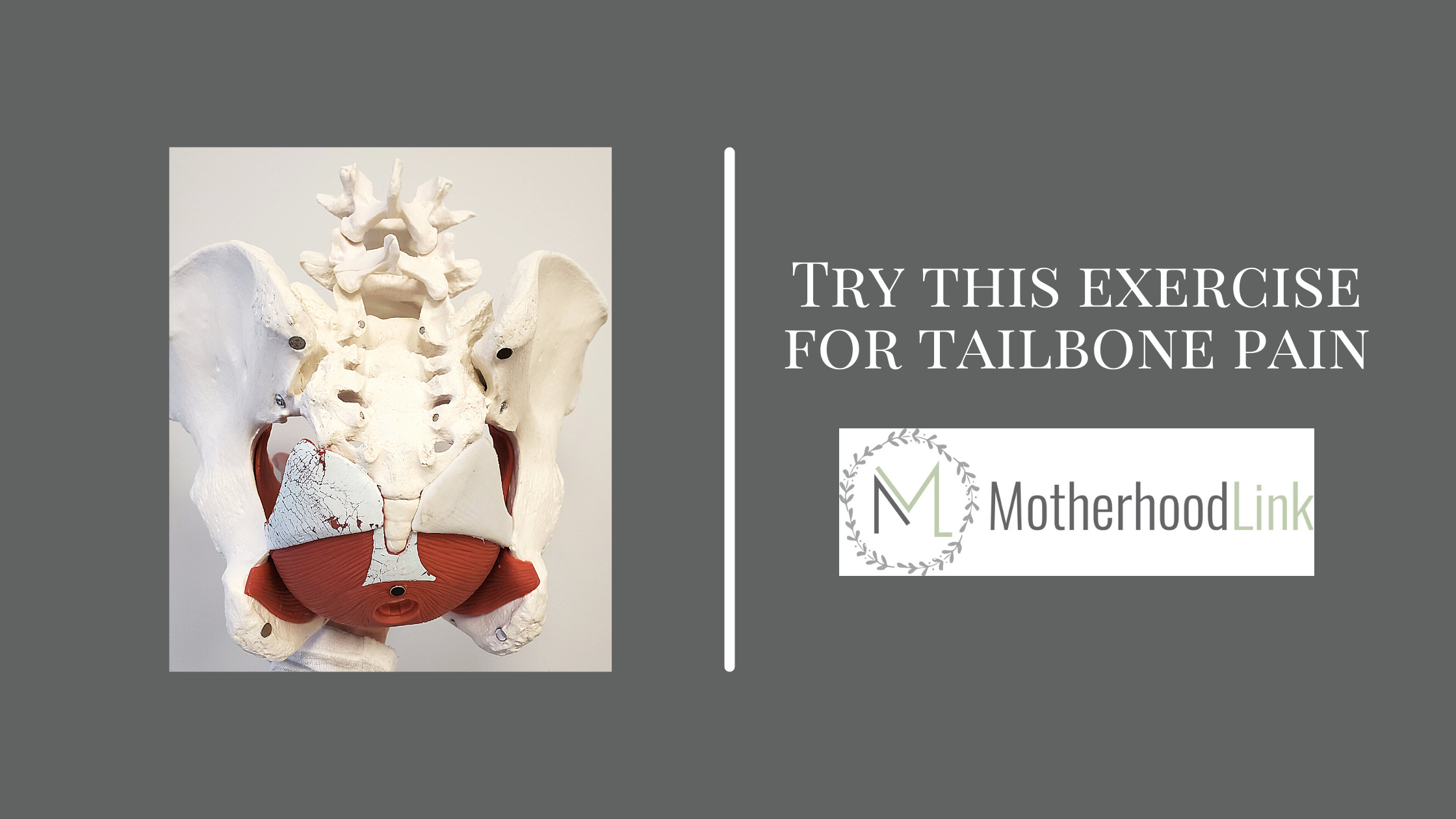 Try This Exercise For Tailbone Pain
